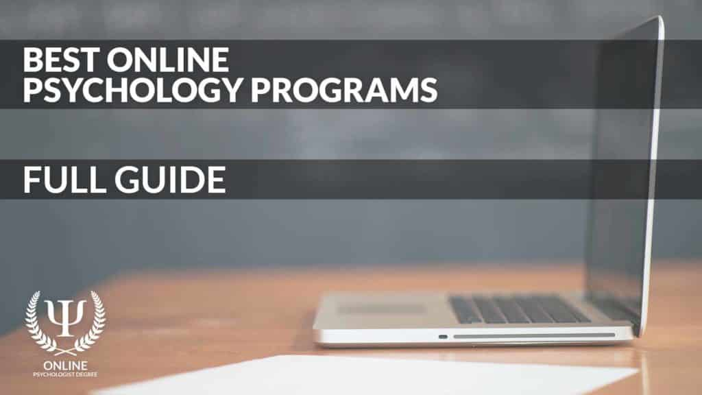 best online psychology degree programs