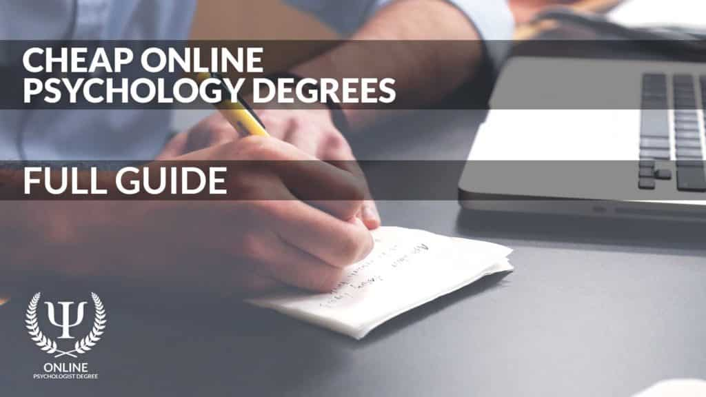 cheap online psychology degrees