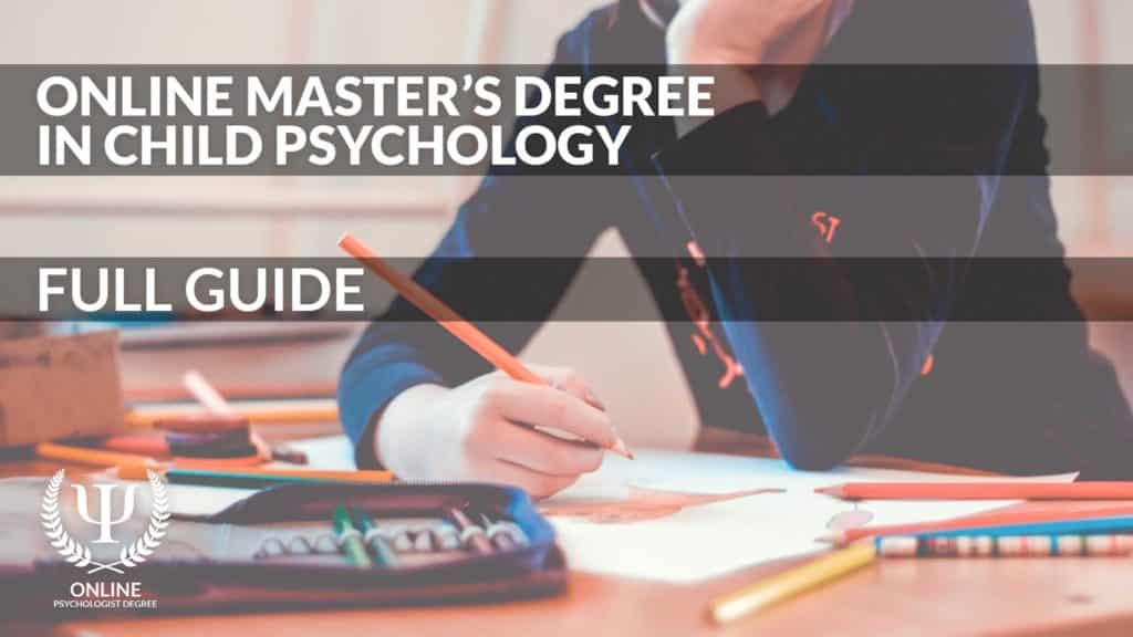 masters in child psychology online