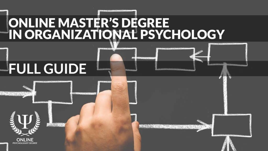 masters in organizational psychology online