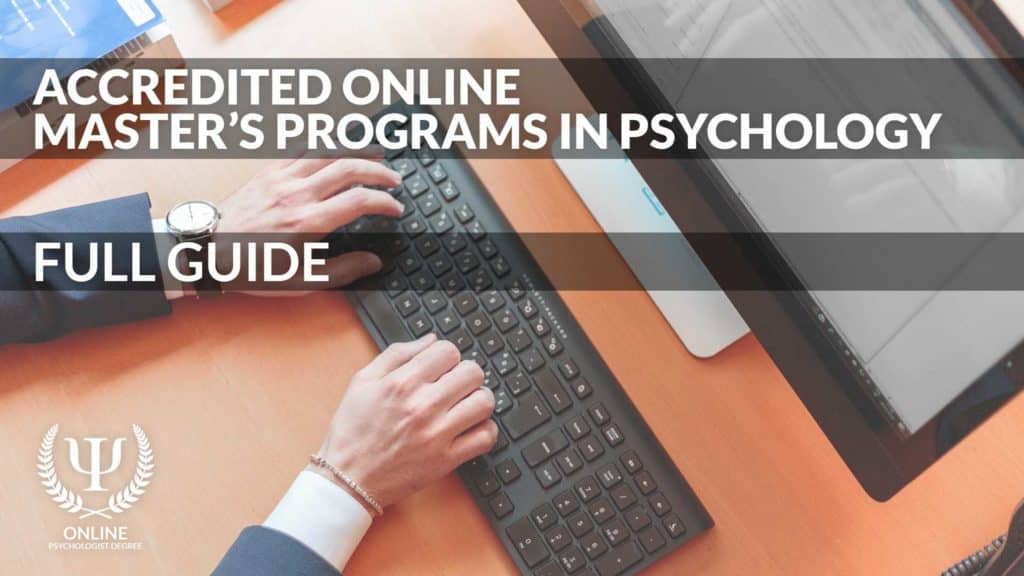 masters in psychology online accredited