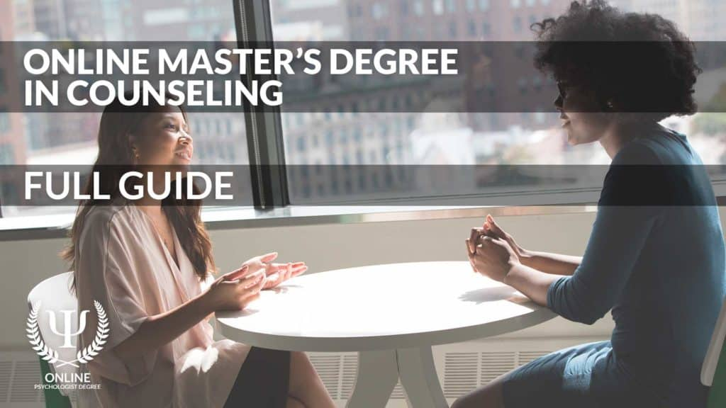online counseling masters degree