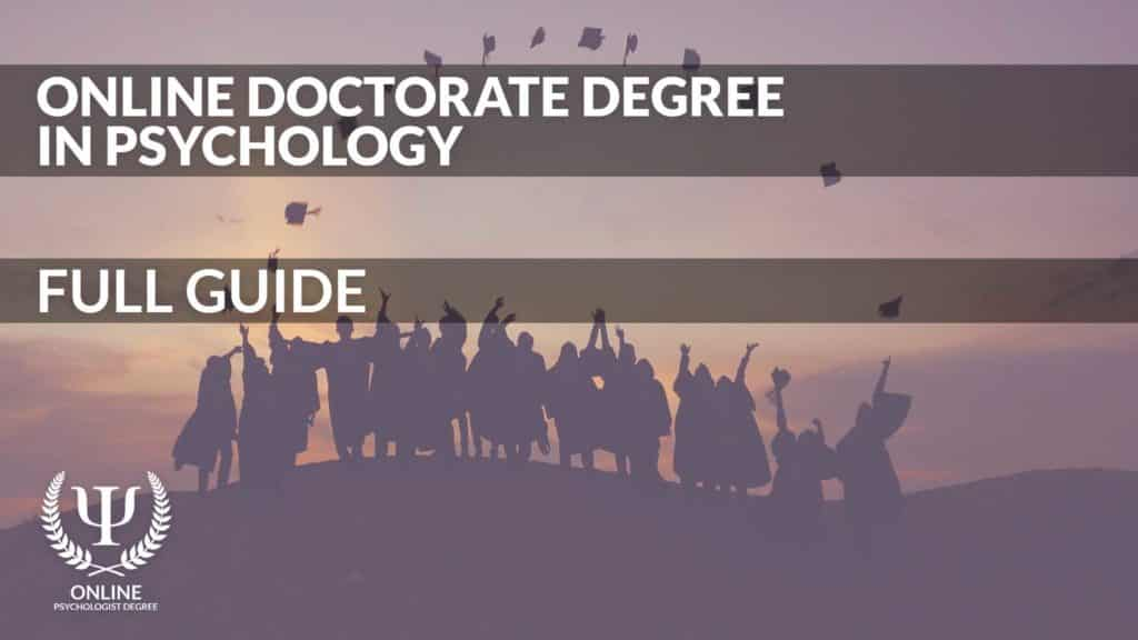 online doctorate in psychology