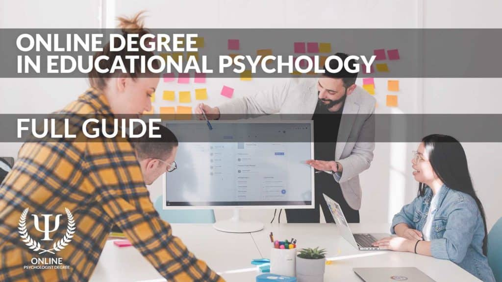 online educational psychology degree