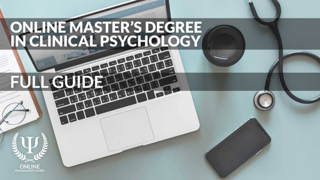 online masters in clinical psychology
