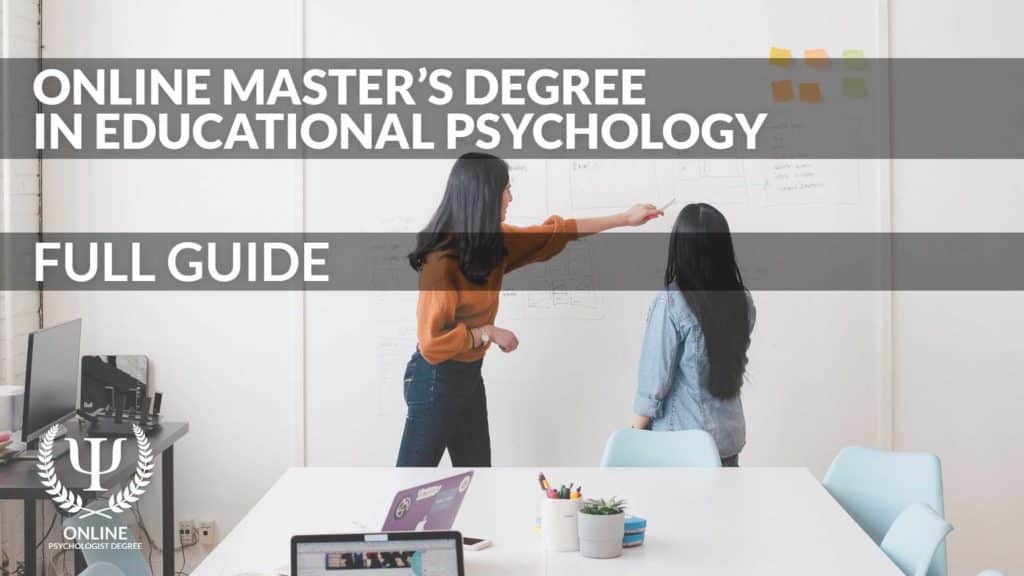 online masters in educational psychology