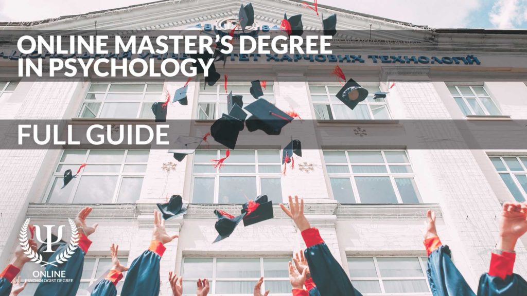 online masters in psychology