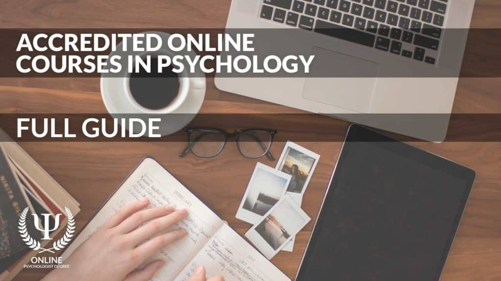 online psychology courses accredited
