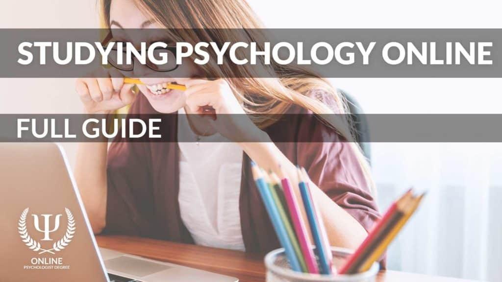 study psychology online
